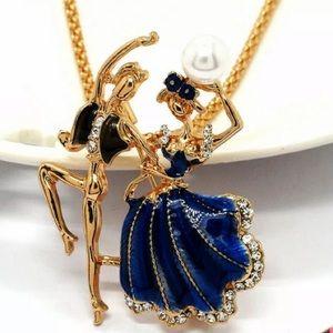 NWT Betsey Johnson Enamel Latin Dance Necklace